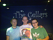 Andy meets The Frank & Walters - 23/5/08
