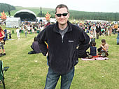 Steve at Wickerman for Dubster's festival special - 26/7/08